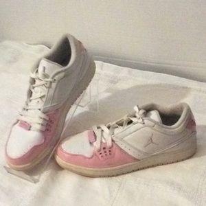 Nike Air Jordan flight 23 pink white # 7 y girls